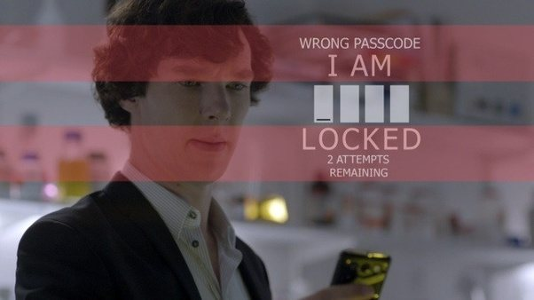 Sherlock locked