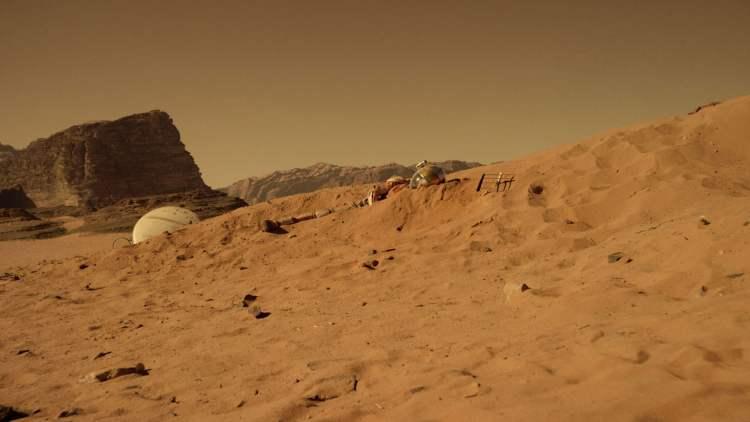 Perdido em Marte cena 1