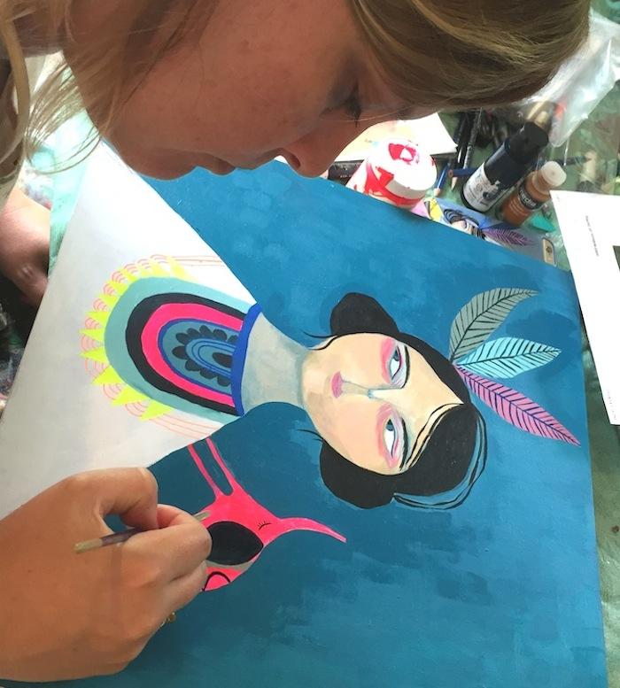 soul painting mati