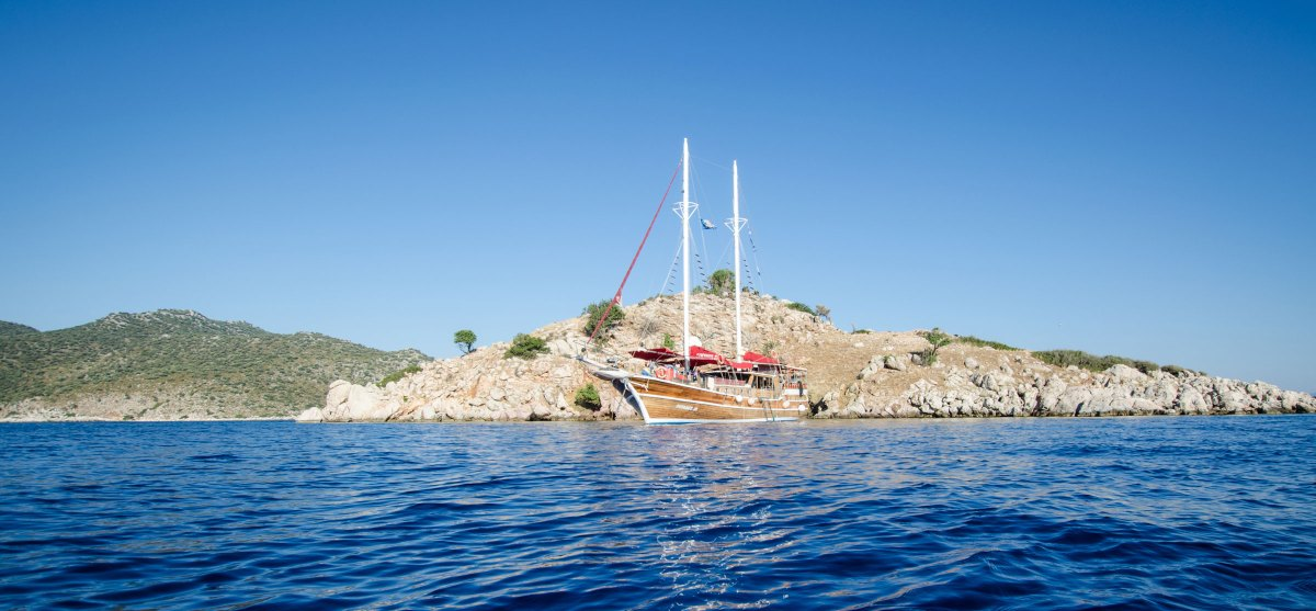 Türkei Segelschiff