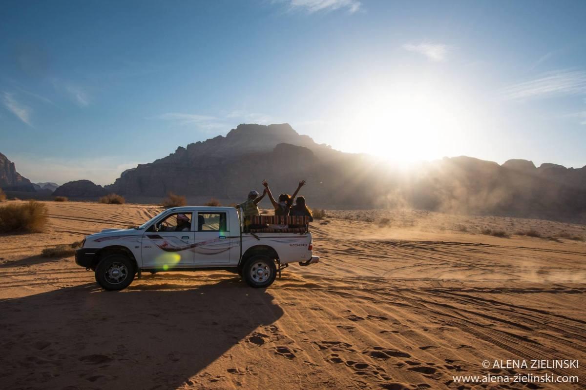 Jeeptour durchs Wadi Rum © Alena Zielinski