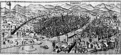 Los Jardines del Renacimiento. - I -  Las ciudades italianas. Por Virginia Seguí  (2/6)