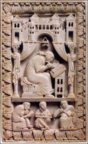 La Escritura y el Arte: La Edad Media. Por: Virginia Seguí (1/6)