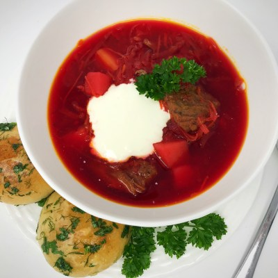 Red Borsch (Beet Soup)