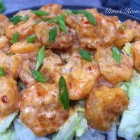 Bang Bang Shrimp & Lettuce Wraps