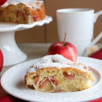 Quick & Moist Apple Tea Cake