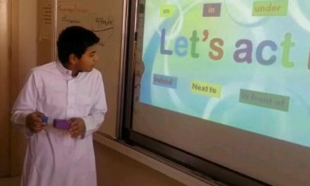 (Let s act it  ) تمثيل حروف الجر  حصة ممتعة للأستاذ محمد حسين  معلم اللغة انجليزية