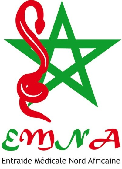 L'étoile chérifienne et le caducée pour le logo d'EMNA