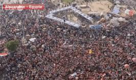 à Alexandrie, les manifestants sont nombreux