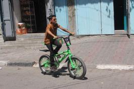 Du soleil dans la Bande de Gaza pour l'occasion