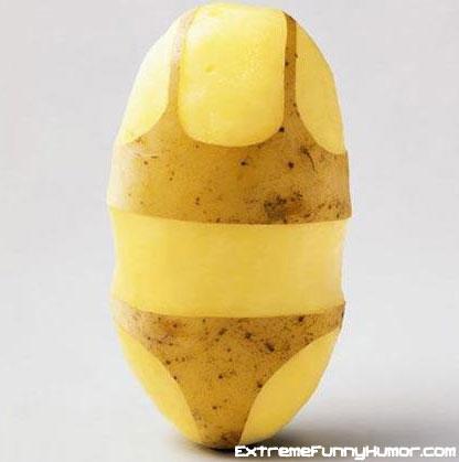 La patate, objet de fantasme?