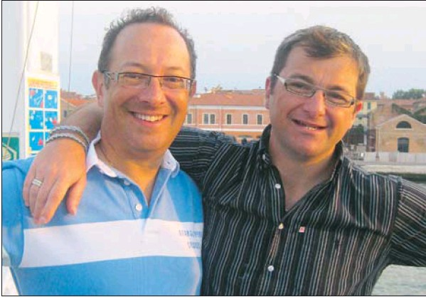 Scott Whitmont and Christopher Whitmont-stein