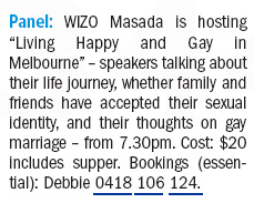 AJN p35 May 4 2012 WIZO Masada gay panel