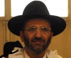 Chief rabbi of France Gilles Bernheim