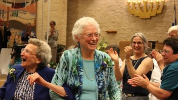 After 47 years, lesbian couple weds | The Times of Israel