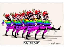 "ECAJ responds to Bill Leak's ""Waffen-SSM"" cartoon"