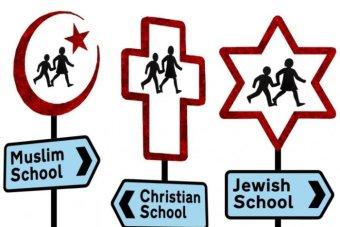 Religious schools signs