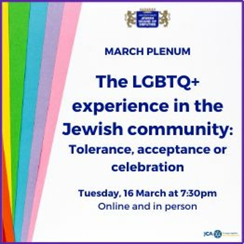The LGBTQ+ experience in the Jewish community: Tolerance, acceptance or celebration | NSW JBD
