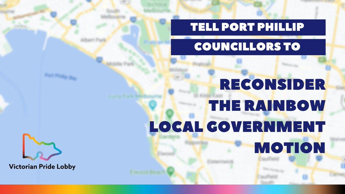 Statement to Port Phillip on LGBTIQA+ inclusion