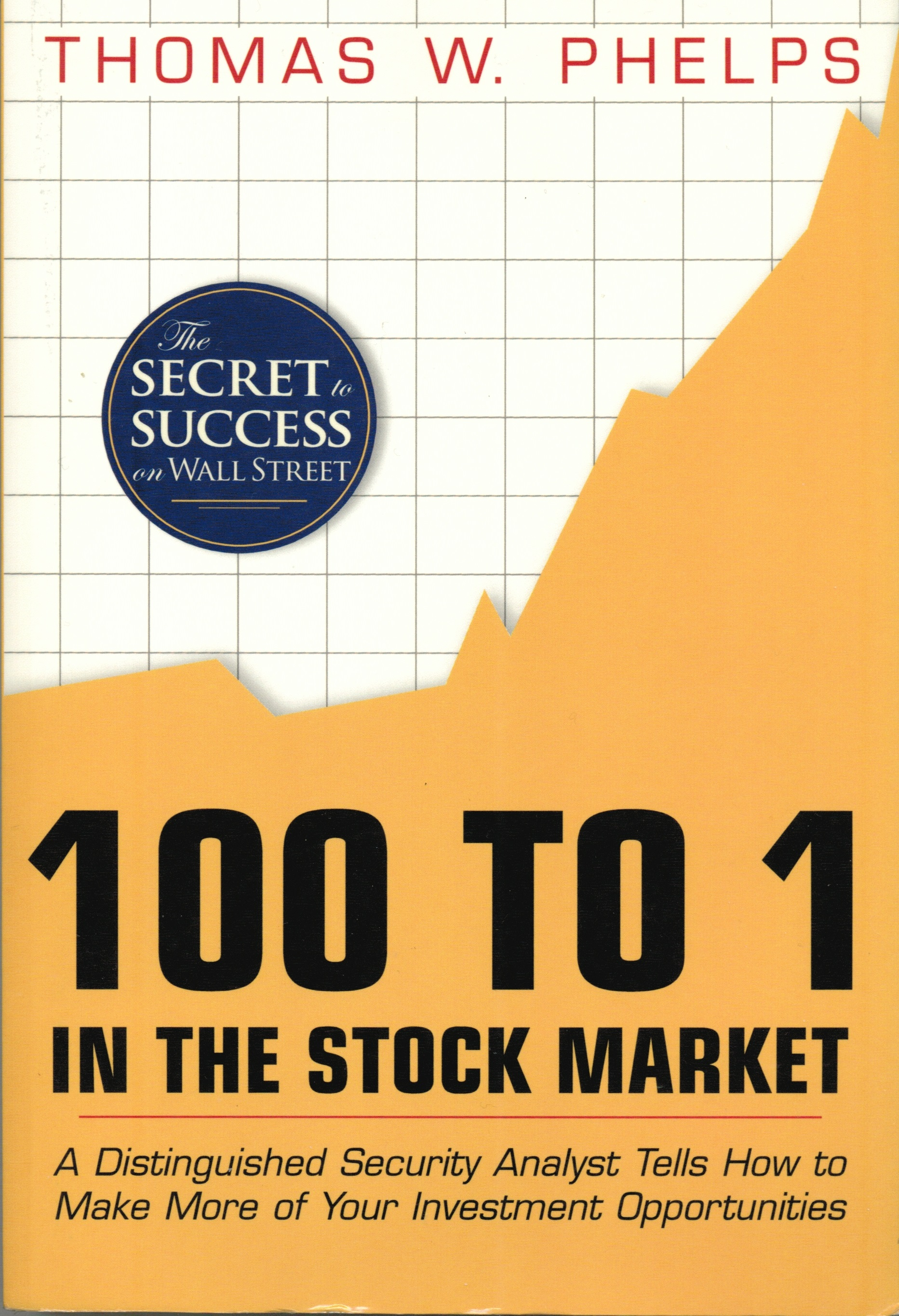 Book Review: 100 To 1 In The Stock Market