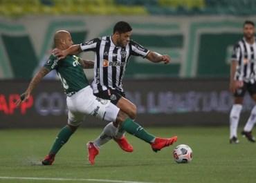 Palmeiras e Atlético-MG ficam apenas no 0 x 0 pela semi da Libertadores