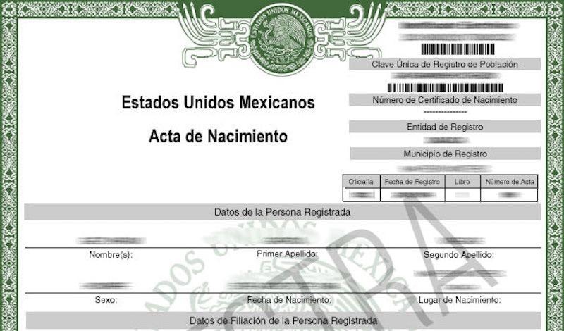 En Chiapas ya puedes obtener copia certificada del acta de ...