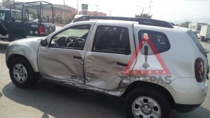 Varias personas lesionadas luego de un múltiple percance vehicular img 1420