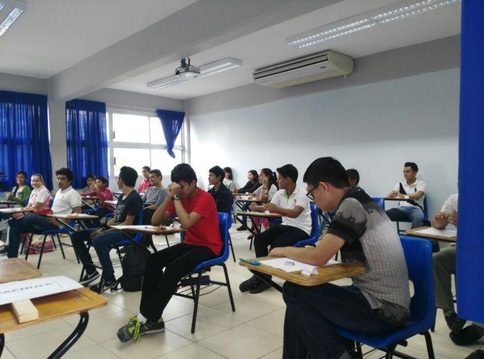 Chiapanecos compiten en matemáticas para obtener pase en Olimpiada Mexicana de Matemáticas WhatsApp Image 2018 06 16 at 15.44.34