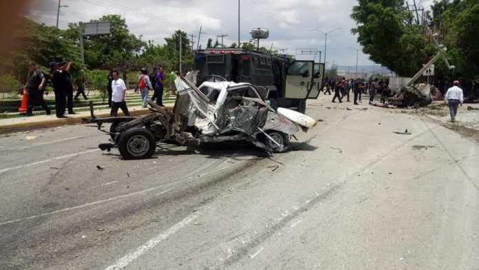 Siete muertos, entre ellos dos policías al ser arrollado por un trailer en La Pochota WhatsApp Image 2018 06 20 at 17.38.462