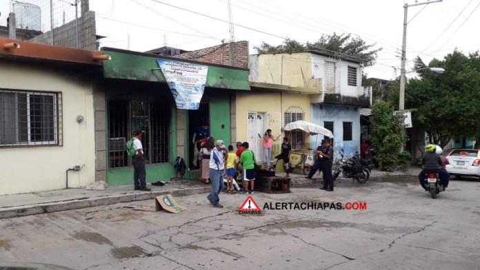 Incendio consume interior de una vivienda en la Bienestar Social #Tuxtla img 6681