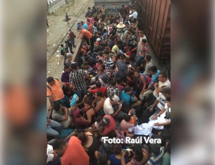 Migrantes regresan a La Bestia para salir de Chiapas img 2794 1
