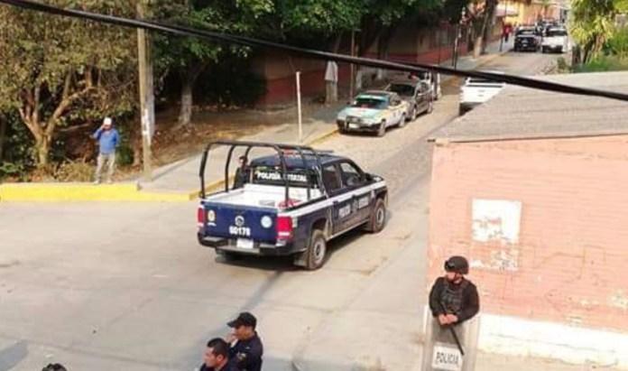 Vandalizan patrullas tras rescate de presuntos ladrones en #Copoya img 3187