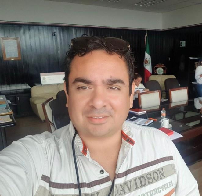 Marcos Viaña Director de Gobierno Municipal de Tapachula