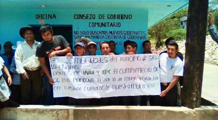 INAH incumple con indígenas de Chilón y Sitalá, argumenta desacuerdo con IEPC