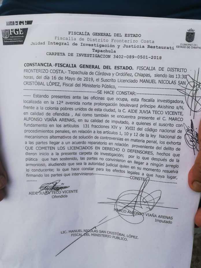 Señalan a director de Gobierno de Tapachula de estafador