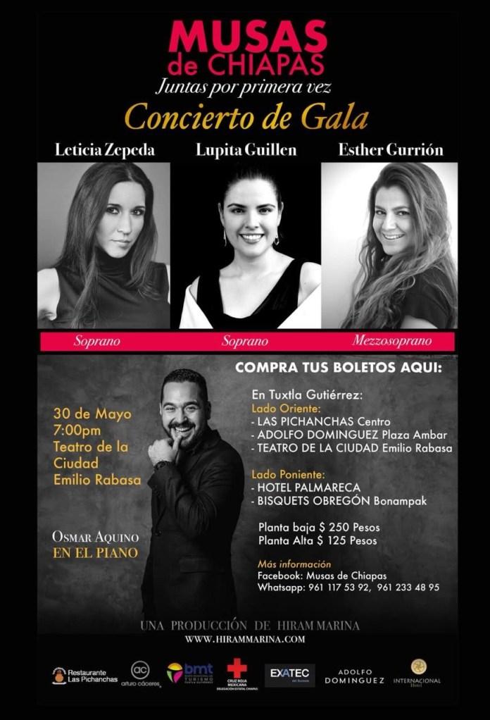 Unen talentos de Chiapas para proyectar concierto de alto nivel d87ba75c f48e 4733 a9a5 905486f592aa
