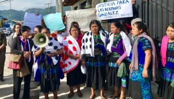Toman la Guarnición Militar de San Cristóbal para exigir justicia por las 3 tzeltales violentadas