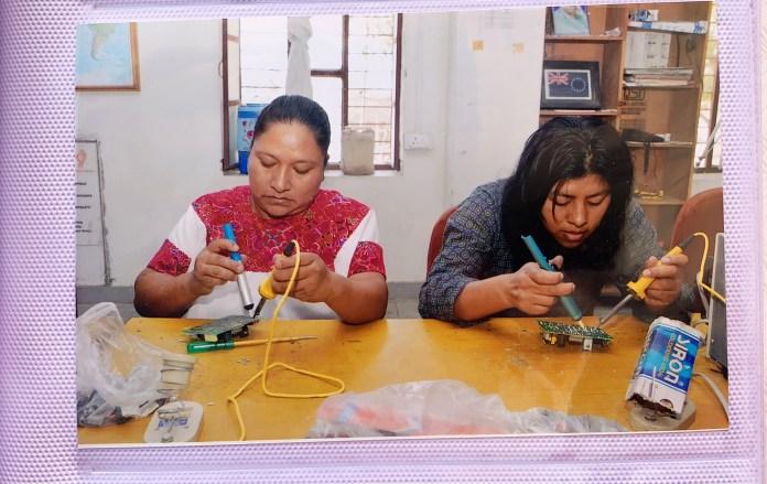 Cuatro indígenas de Chiapas regresan de la India como ingenieras solares 590519855.334374
