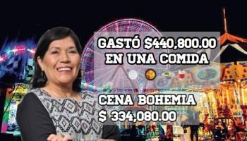 Derroche de recursos en San Cristóbal con Jerónima: ¡18.9 mdp en feria!
