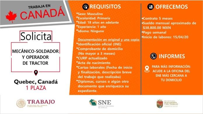 Ofertará Secretaría de Economía y del Trabajo más de mil vacantes WhatsApp Image 2019 10 13 at 2.16.13 PM