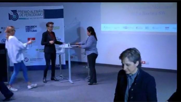Periodista Ángeles Mariscal gana Premio Alemán de Periodismo Angeles 1