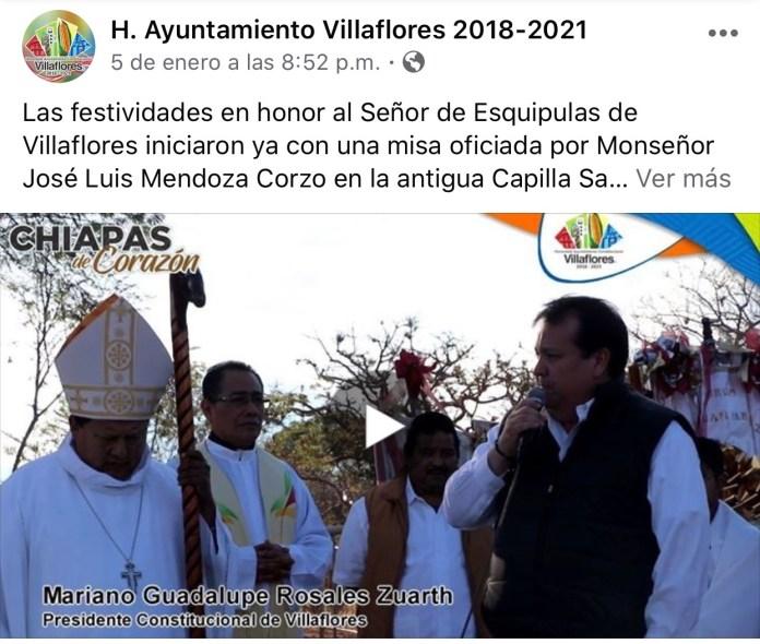 La católica cuenta de facebook del Ayuntamiento de Villaflores IMG 3069