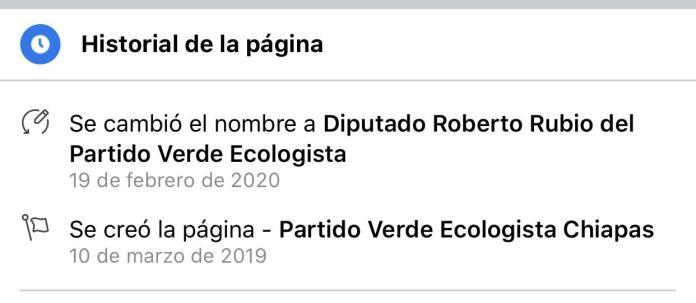 Diputado Roberto Rubio roba cuenta institucional de redes del Verde WhatsApp Image 2020 02 19 at 5.28.13 PM