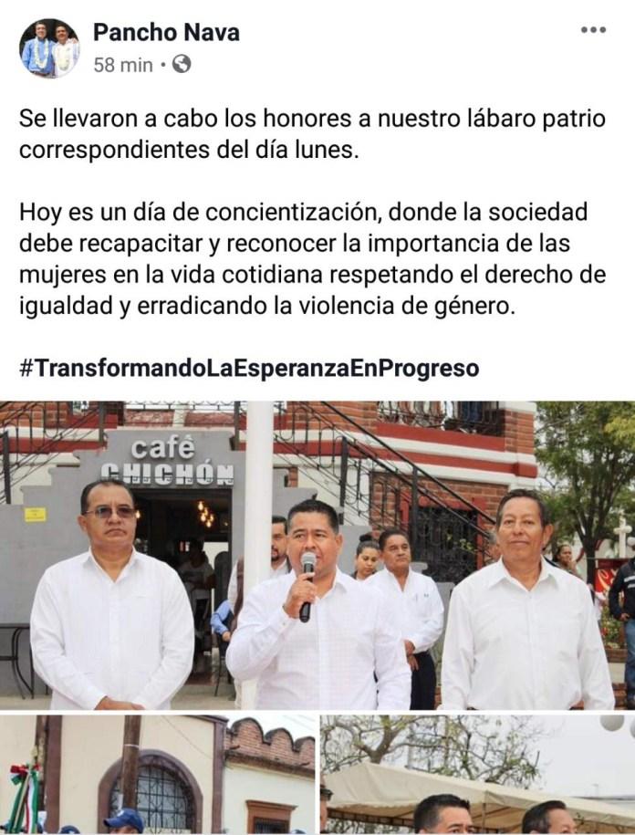 Alcalde de Cintalapa se burla del paro de mujeres 907908b9 7128 4790 9aa6 24bd22fcbf9f