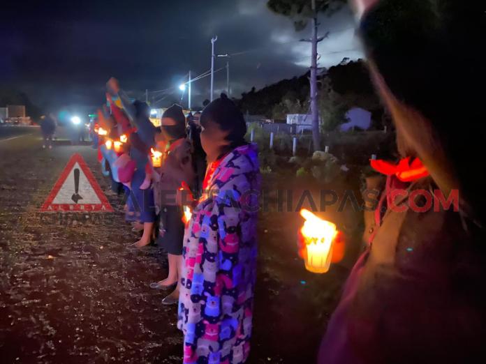 Mujeres zapatistas se unen al hartazgo de la ola feminicida. phonto 4