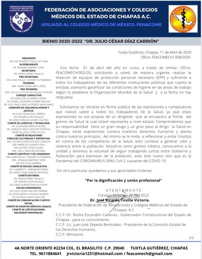 ¡Revuelta de personal médico en Chiapas! IMG 9204
