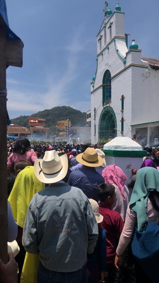 Indígenas de Chiapas desafían cuarentena con procesión de Semana Santa daa754ca 1e8c 43b7 b11d 3227340b426a