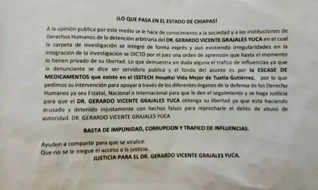 """Especialista de Hospital COVID a la cárcel por """"abuso de autoridad"""" WhatsApp Image 2020 07 26 at 7.42.25 PM"""