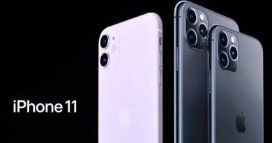 Preço do iPhone 11