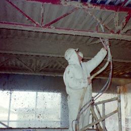 Spray-On Fire Proofing